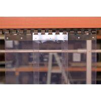 PVC KARDINA LAMELL 300X4000MM+KINNITUS