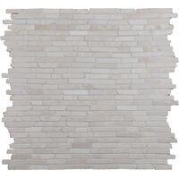 NAT.MOSAIIK 30X30 STICK MARBLE WHITE
