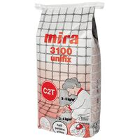 KIINNITYSLAASTI MIRA 3100 Harmaa 25kg