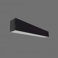 Plafondi LIMAN 40W LED 120 CM MUST 3600LM