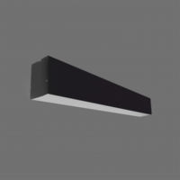 Plafondi LIMAN 20W LED 60 CM MUST 1800LM