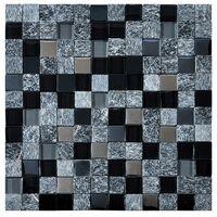 MOSAIIK 30x30 CUBIK BLACK