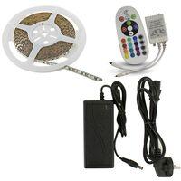 Plafondi LED-LINT 5M 30LED RGB IP20 2100lm