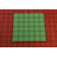 KÄRGPLAAT 380X380X10 vihreä
