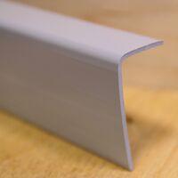 NURGALIIST PVC 20X40 Harmaa 2,6M