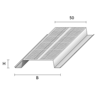 METALLIRANGAT FAVOR MP 16/50 L=3,0M