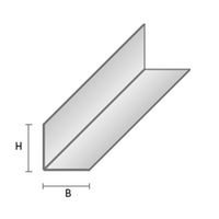 KULMALISTAT FAVOR H 50/50 L=3,0M