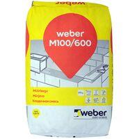 MUURAUSLAASTI WEBER M100/600 25kg