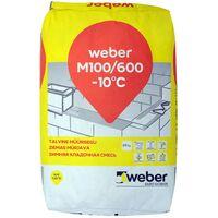 MUURAUSLAASTI WEBER M100/600 25kg TALVI